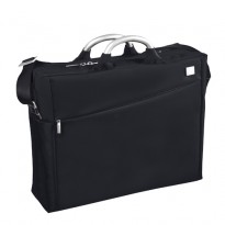 Laptop Double Document Bag Black