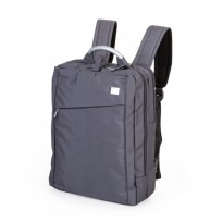 Double Back Pack + Laptop Gris
